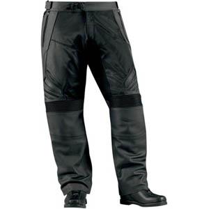 [Icon 섬유바지]Icon Compound Leather/Textile Overpant