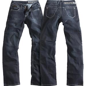 [Rokker 섬유바지]Rokker The Black Lady Jeans