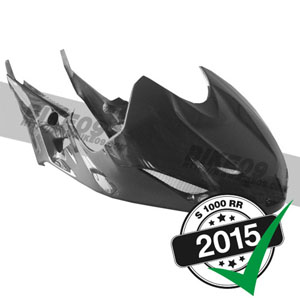 <b>[BMW S1000RR 튜닝파츠부품]</b>Fuel tank cover long carbon fiber 2015-
