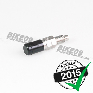 [S1000RR] M8 x1.25. steel. (black) 브레이크 밸브 length 16mm.
