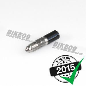[S1000RR] (Black) steel. 브레이크 밸브 M10x1. length 14mm.