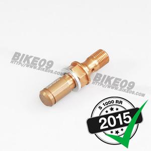 [S1000RR] M10x1x19 gold 반조 볼트 브레이크 밸브