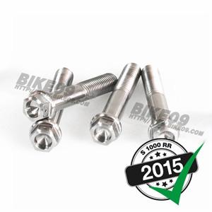 [S1000RR] screw kit front caliper titanium 알파 레이싱