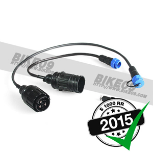 [S1000RR] Cable kit extension diagnostic plug/calibration ki 배선 스위치