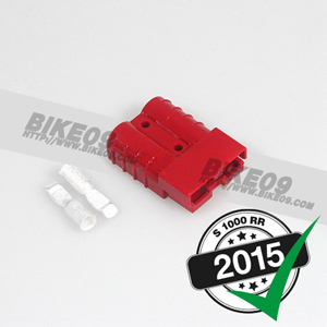 [S1000RR] Anderson plug SB50, 6qmm, red 배선 스위치