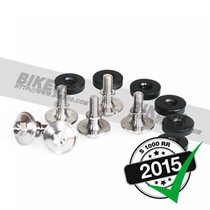 <b>[S1000RR]</b> screw set camshaft cover titanium 볼트 너트 alpha Racing