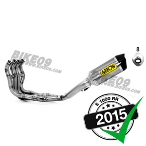 <b>[BMW S1000RR 튜닝파츠부품]</b>ARROW Race-Tech stainless steel S1000RR '15-