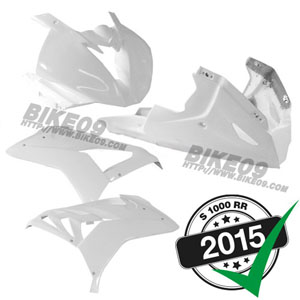 [S1000RR] '15- FIM FRP 카울 키트 GRP 4-piece white