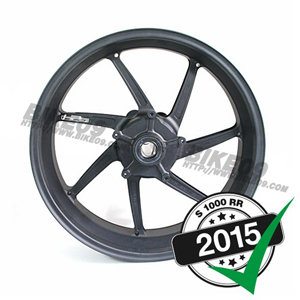 "[S1000RR] Rear rim, 6.0x17"", black, HP4, S1000RR '15-"