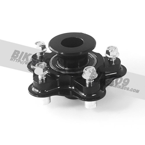 <b>[BMW S1000RR 튜닝파츠부품]</b>Sprocket carrier alu. black OZ CattivaRS-A aR spec