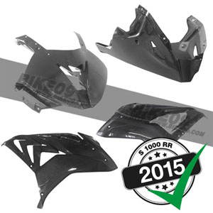 <b>[BMW S1000RR 튜닝파츠부품]</b>Fairing kit carbon 4-piece 2015-