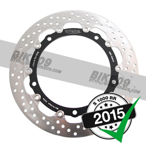 <b>[BMW S1000RR 튜닝파츠부품]</b>Front brake disc 320x5.5mm EVO left. OEM rim