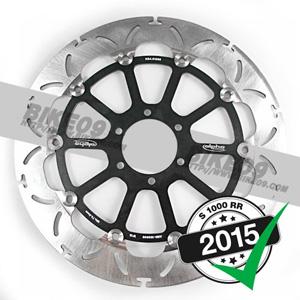 [S1000RR] 320x5.0mm f. 레이싱 휠용 프론트 브레이크 디스크