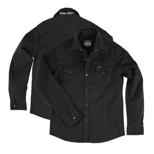 [Rokker 시티섬유자켓]Rokker Black Jack Rider Shirt