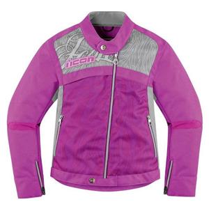 [Icon 투어링섬유자켓]Icon Hella 2 Damen Textile Jacket