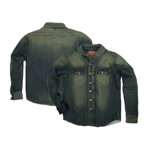 [Rokker 시티섬유자켓]Rokker Denim Rider Shirt