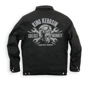 [King Kerosin 투어링섬유자켓]King Kerosin Speedmate US Worker Grease Monkey