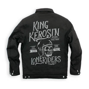 [King Kerosin 투어링섬유자켓]King Kerosin Speedmate US Worker Lone Riders