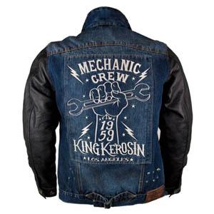 [King Kerosin 투어링섬유자켓]King Kerosin Speedrebel Mechanic Crew