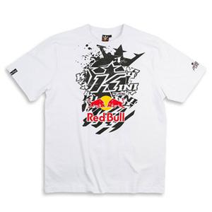 키니 티셔츠 Kini Red Bull Pasted K (White)