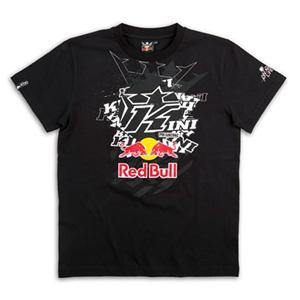 키니 티셔츠 Kini Red Bull Pasted K (Black)
