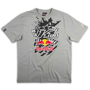 키니 티셔츠 Kini Red Bull Pasted K (Grey)