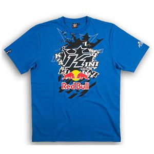 키니 티셔츠 Kini Red Bull Pasted K (Blue)