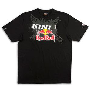 키니 티셔츠 Kini Red Bull X-Up (Black)