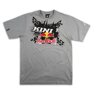 키니 티셔츠 Kini Red Bull X-Up (Grey)