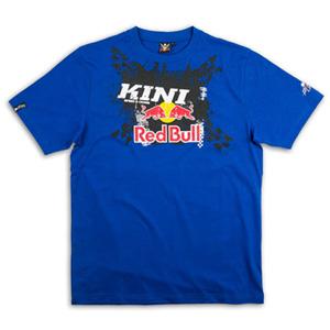 키니 티셔츠 Kini Red Bull X-Up (Blue)