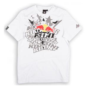 키니 티셔츠 Kini Red Bull Fade T-Shirt (White)