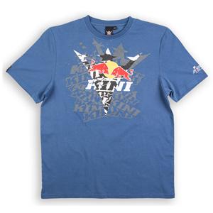 키니 티셔츠 Kini Red Bull Fade T-Shirt (Blue)