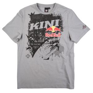 키니 티셔츠 Kini Red Bull Bleed T-Shirt (Grey)