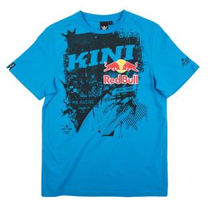 키니 티셔츠 Kini Red Bull Bleed T-Shirt (Blue)