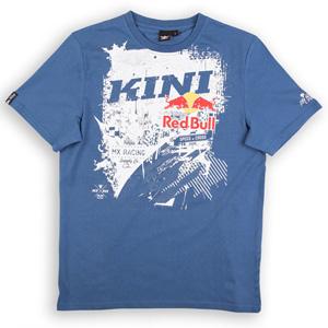 키니 티셔츠 Kini Red Bull Bleed T-Shirt (Dark Blue)