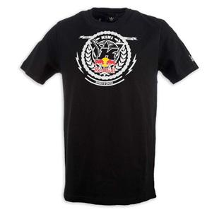 키니 티셔츠 Kini Red Bull Crest (Black)