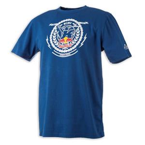 키니 티셔츠 Kini Red Bull Crest (Blue)