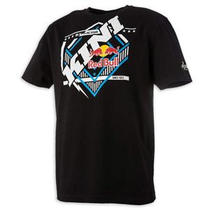 키니 티셔츠 Kini Red Bull Slanted (Black)