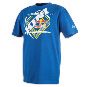 키니 티셔츠 Kini Red Bull Slanted (Blue)