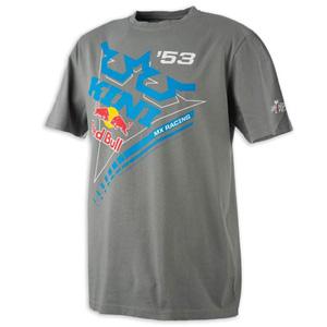 키니 티셔츠 Kini Red Bull Ribbon (Grey)