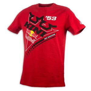 키니 티셔츠 Kini Red Bull Ribbon (Red)