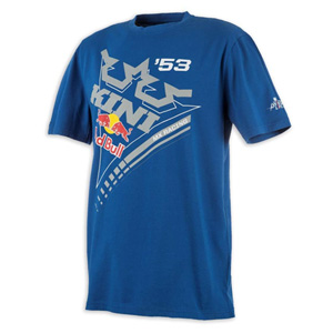 키니 티셔츠 Kini Red Bull Ribbon (Blue)