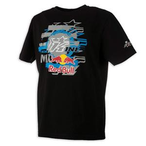 키니 티셔츠 Kini Red Bull Layered (Black)
