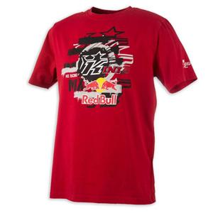 키니 티셔츠 Kini Red Bull Layered (Red)