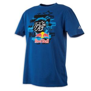 키니 티셔츠 Kini Red Bull Layered (Blue)
