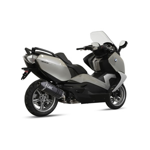 미브 머플러 BMW C650 GT (2012-2015) SPEED EDGE BLACK-BLACK STAINLESS STEEL 슬립온