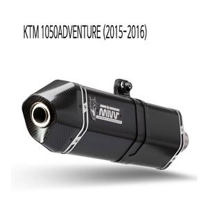미브 1050어드벤처 (15-16) 스피드엣지 블랙 스틸 슬립온 머플러 KTM