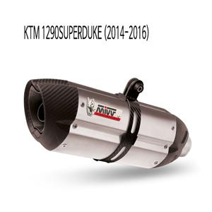 미브 1290슈퍼듀크 수오노 스틸 슬립온 (14-16) 머플러 KTM