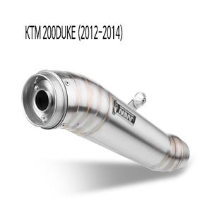 미브 200듀크 GHIBLI 스틸 풀시스템 머플러 KTM (2012-2014)