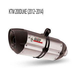 미브 200듀크 KTM (12-14) 수오노 스틸 풀시스템 머플러